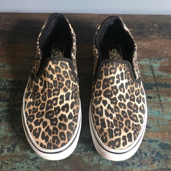 Vans Shoes   Vans Asher Slip On Leopard